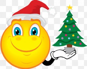 Christmas Time Pictures - Smiley Emoticon Christmas Santa Claus Clip Art PNG