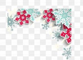 Creative Snowflake Pattern - Santa Claus Christmas New Year Snowflake Pattern PNG