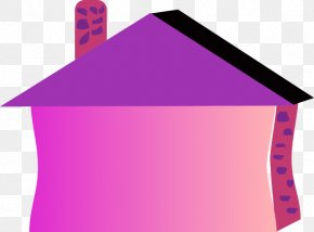 House Pink Cliparts - House Building Clip Art PNG
