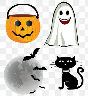 Scary Halloween - Halloween Euclidean Vector Clip Art PNG