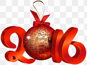 Happy New Year - Christmas New Year's Day Desktop Wallpaper Clip Art PNG