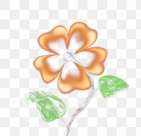 Matches - Petal Floral Design Orange PNG
