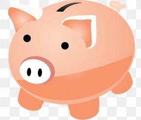 Piggy Bank - Piggy Bank Money Saving Finance PNG