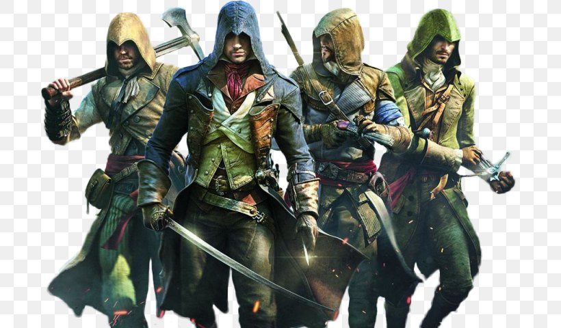 Assassin's Creed Unity Assassin's Creed III Assassin's Creed: Revelations Assassin's Creed Syndicate, PNG, 700x480px, Ubisoft, Action Figure, Assassins, Playstation 4, Saved Game Download Free