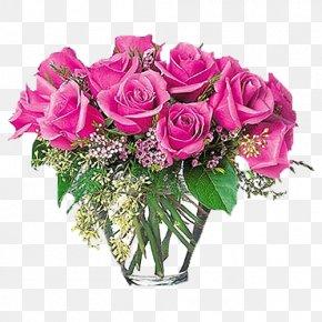 Pink Roses - Floristry Rose Flower Delivery Flower Bouquet PNG