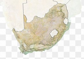 Geographical Map Of South Africa - South Africa Map Stock Photography PNG