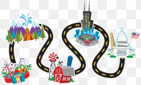 Plan Traveling Cliparts - Road Trip Travel Clip Art PNG