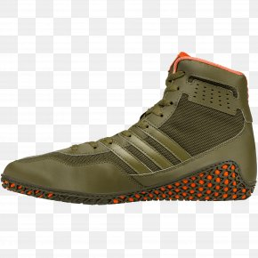 Adidas - Sneakers Wrestling Shoe Adidas Green PNG