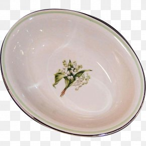 Lily Of The Valley - Tableware Platter Ceramic Plate Porcelain PNG