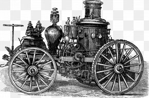 Industrial Era Steam Engine - Photography Illustration PNG