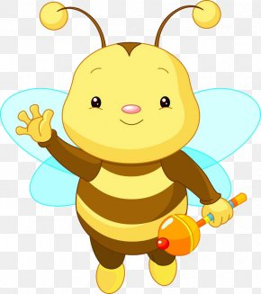 Lovely Bee Baby - Bee Royalty-free Infant Clip Art PNG