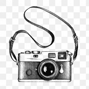Camera - Drawing Camera Photography Clip Art PNG