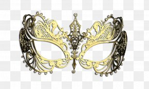 Carnival Mask - Mask Masquerade Ball Computer Software Jewellery Gold PNG