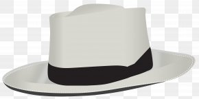 Male Transparent Hat Clipart - Product Fedora Design PNG