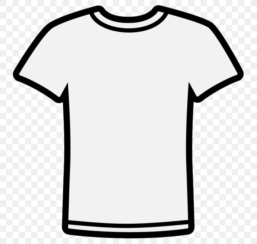 Long-sleeved T-shirt Clip Art, PNG, 768x779px, Tshirt, Aloha Shirt, Area, Black, Black And White Download Free