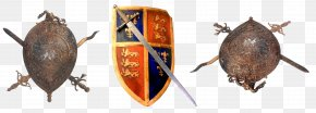 Gladiator Badge - Middle Ages Sword Shield Gladiator Coat Of Arms PNG