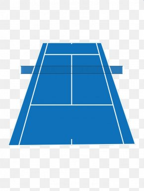 Blue Vector Badminton Court - Badminton Tennis Centre Stock Photography PNG