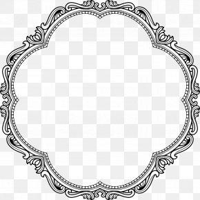 Vintage - Graphic Frames Picture Frames Clip Art PNG