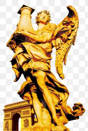 Take Angel Sculpture Vase - Ponte SantAngelo Sculpture Statue PNG