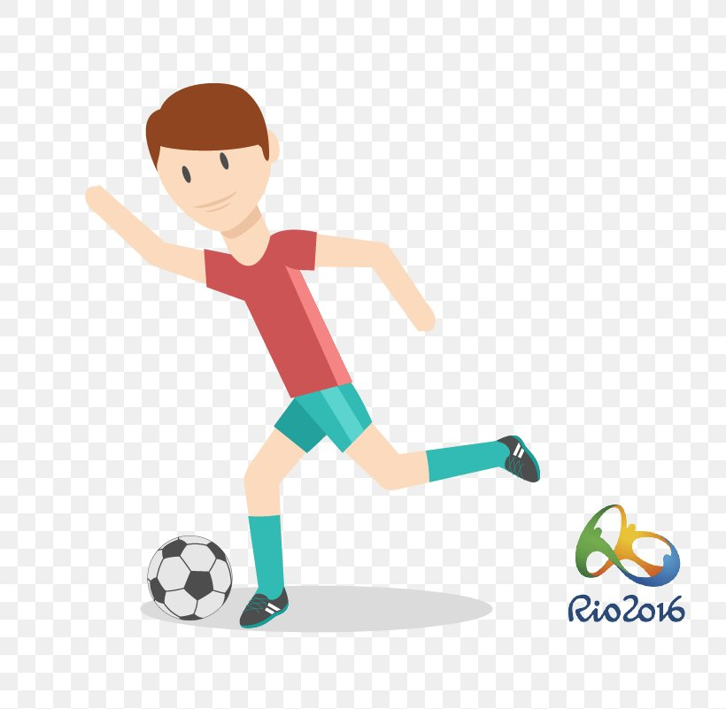 2016 Summer Olympics Rio De Janeiro Football Sport, PNG, 801x801px, Rio De Janeiro, American Football, Area, Athlete, Ball Download Free