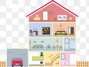 Four-storey Apartment Profile - Apartment Download PNG