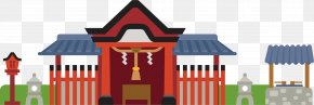Building Gate Vector - Japan Royalty-free Illustration PNG