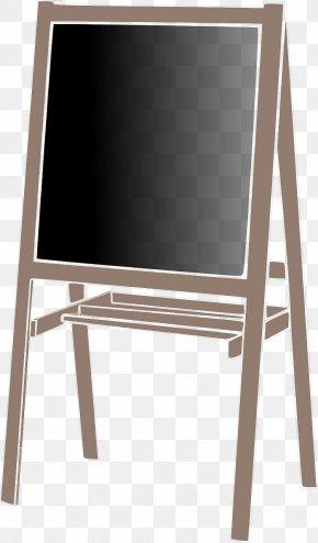 Chalkboard - Blackboard Easel Art Clip Art PNG