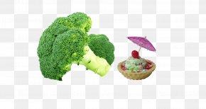 Broccoli Ice Cream - Broccoli Vegetable Food Fruit Cauliflower PNG