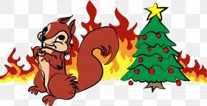 Christmas Tree - Christmas Tree Clip Art Illustration Christmas Ornament Christmas Day PNG