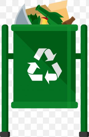 Material Recycling Bins - Waste Container Recycling Bin Bag PNG