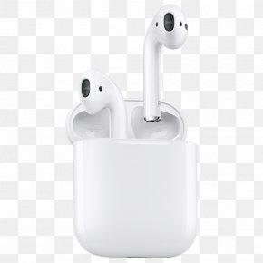 Apple - Apple AirPods Headphones Apple Earbuds PNG