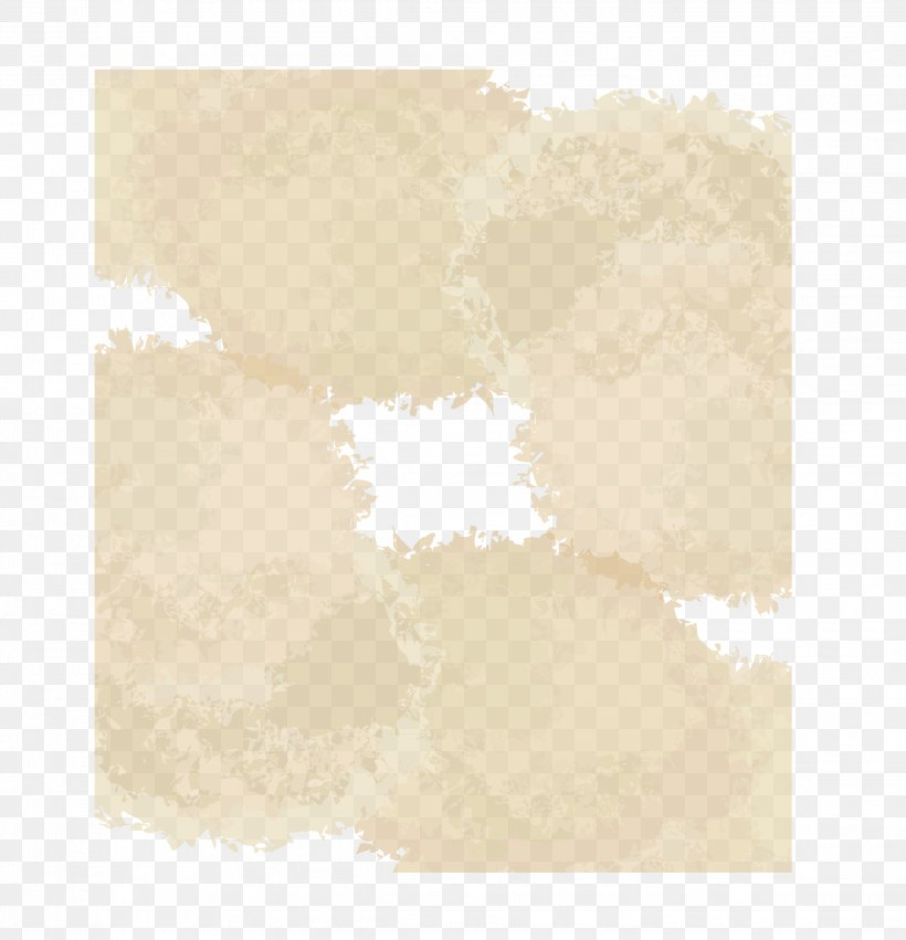 Flower Sticker Torn Edge And Bottom, PNG, 2269x2356px, Paper, Beige, Brown, Pattern, Rectangle Download Free