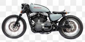 Harley Davidson Motorcycle Bike - Cafe Cafxe9 Racer Custom Motorcycle BMW R1200R PNG