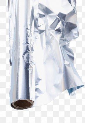 Silver Tin Foil - Paper Aluminium Foil Vark Sticker PNG