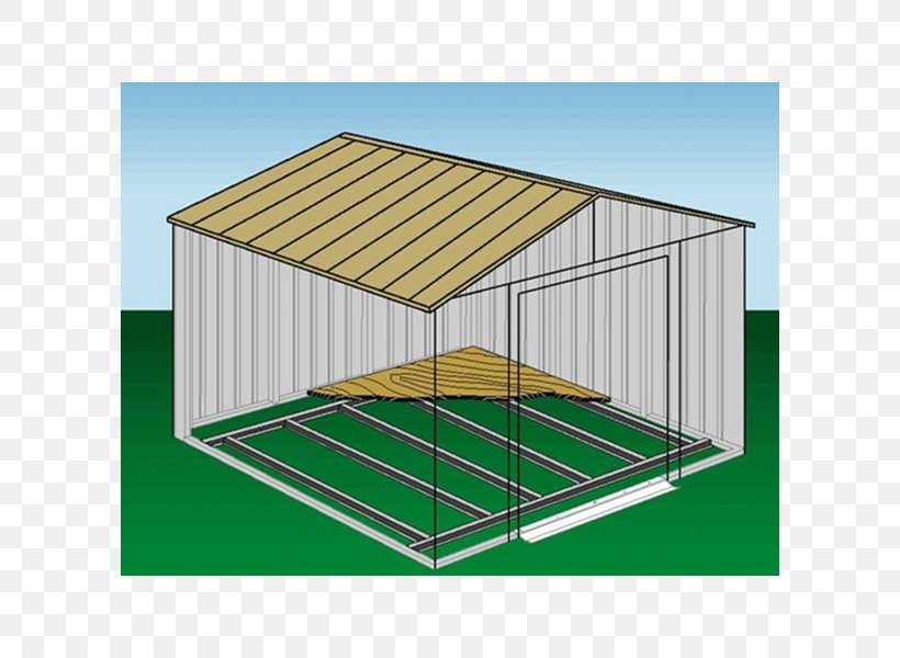 Shed Framing Building Floor Steel, PNG