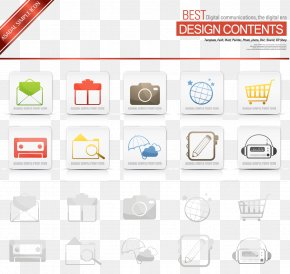 Life Tool Envelope Camera Umbrella - Icon Design Euclidean Vector Download Icon PNG