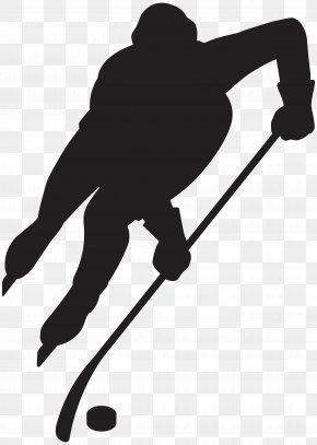 Hockey Player Silhouette Clip Art Image - Art Center College Of Design Illustrator Graphic Design Illustration PNG