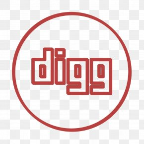 Logo Red - Aggregator Icon Digg Icon Line Icon PNG