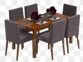 Tables And Chairs - Table Chair Furniture Dining Room Living Room PNG