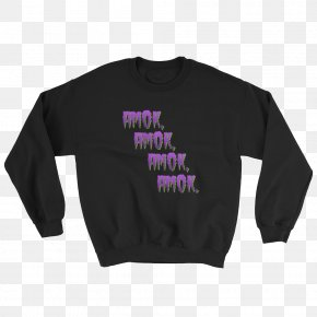 T-shirt - Long-sleeved T-shirt Hoodie Crew Neck Neckline PNG