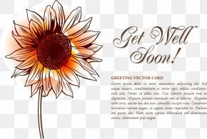Vector Illustration Sunflower - Watercolor Painting Graphic Design Euclidean Vector PNG
