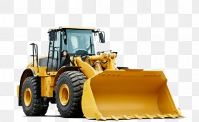 Construction Trucks - Caterpillar Inc. Heavy Machinery Architectural Engineering Bulldozer Road Roller PNG