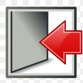Door, Exit, Log Out, Logout, Sign Out Icon - Login PNG