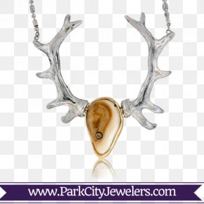 Sterling Silver Bullet Necklace - Necklace Jewellery Earring Elk PNG