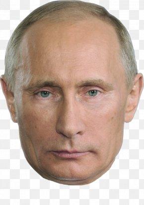 Vladimir Putin - Vladimir Putin President Of Russia Mask PNG