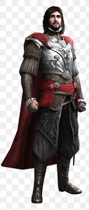 Assassins Creed Brotherhood - Cesare Borgia Assassin's Creed: Brotherhood Assassin's Creed III Assassin's Creed: Embers PNG