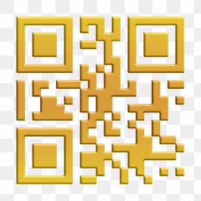 Yellow Blackberry Qr Code Variant Icon - Essentials Icon Qr Code Icon Technology Icon PNG
