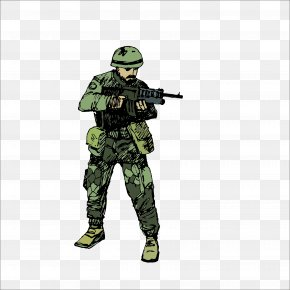 Soldier - Soldier Military Infantry Army PNG