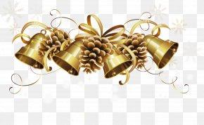 Walnut - Christmas Jingle Bell Clip Art PNG