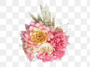 Floral Bouquet - Carnation Flower Bouquet Floral Design PNG